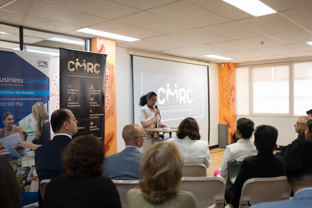CMRC CEO Melissa Monteiro talks about the critical role CMRC players in empowering communities