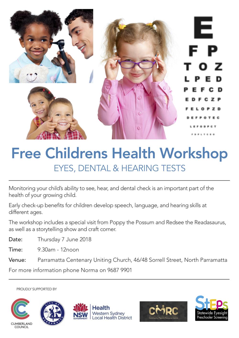 Children's Health Workshop - A4 Flyer - R2 230518.png