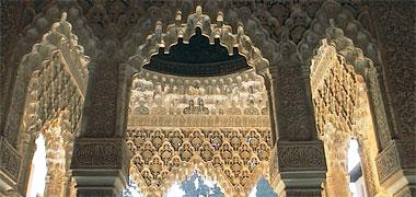Alhambra complex in Granada, Andalusia, Spain.