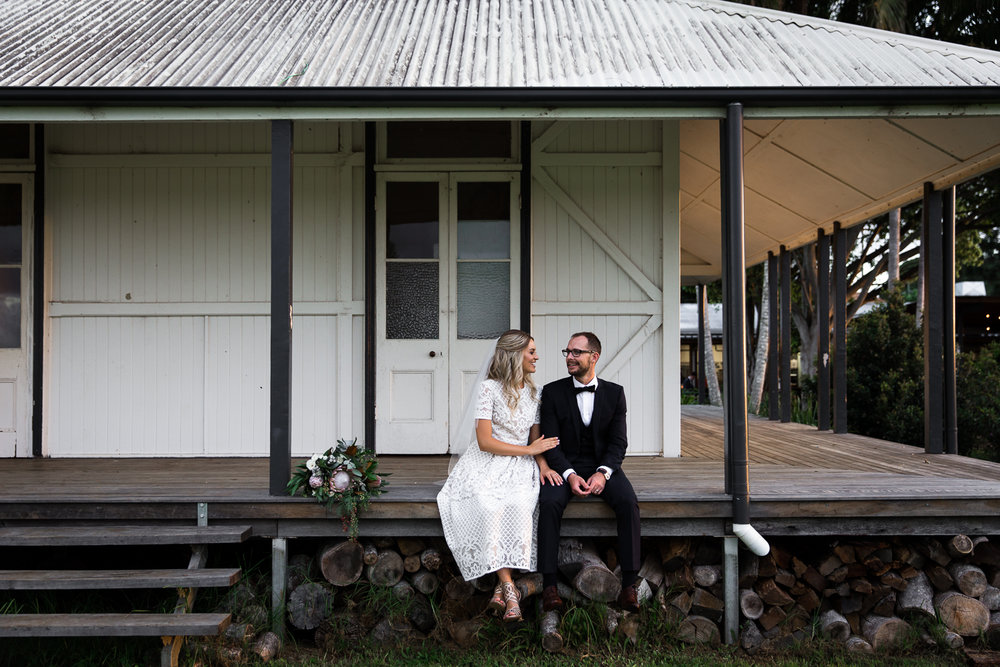 Sam & Aaron, married at The Farm in Byron Bay. Photo by Lean Timms.