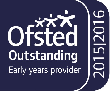 Ofsted Outstanding Early Years Provider 2015/2016 logo