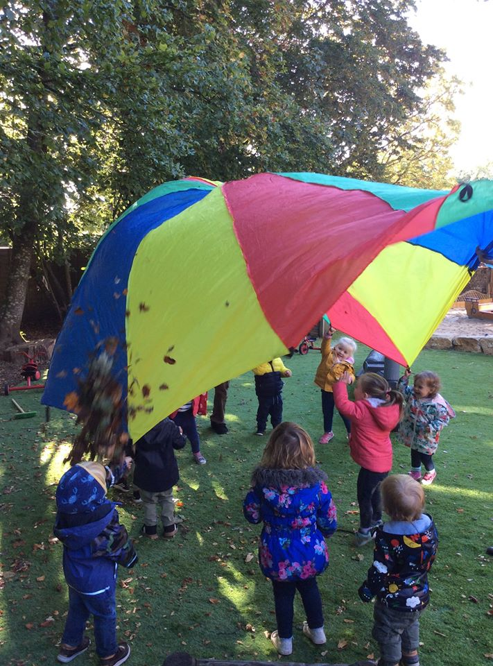 Forest School nursery outdoor activities