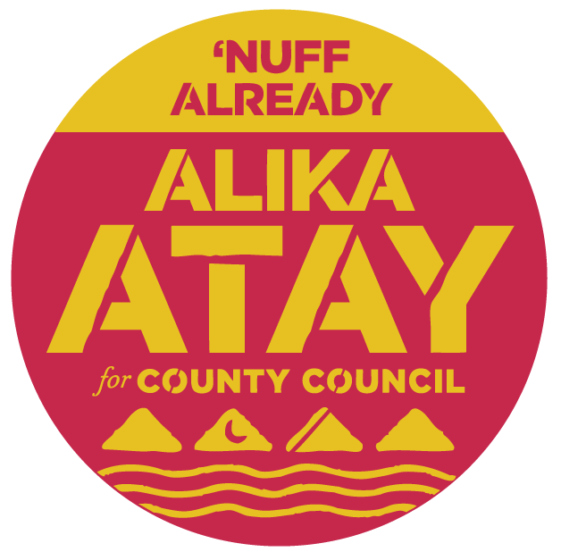 Alika Atay for Maui County Council