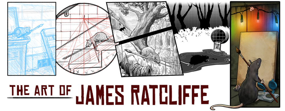 COMICRAT: The Art of James Ratcliffe