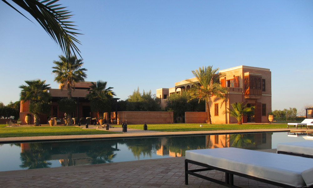 Late Summer Yoga Retreat 22 to 25 September, 2017 - blissfully calm, peaceful yoga retreat in the late summer sunshine of Marrakech