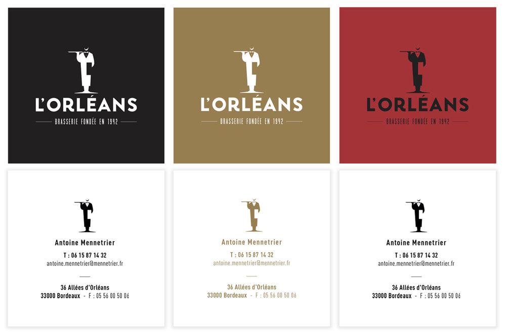 carte de visite brasserie orléans hello