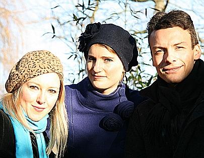 Harriet MacKenzie (violin), Meg Hamilton (viola),  Miloš Milivojević (accordion)