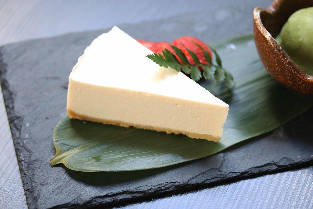 Homemade Tofu Cheesecake