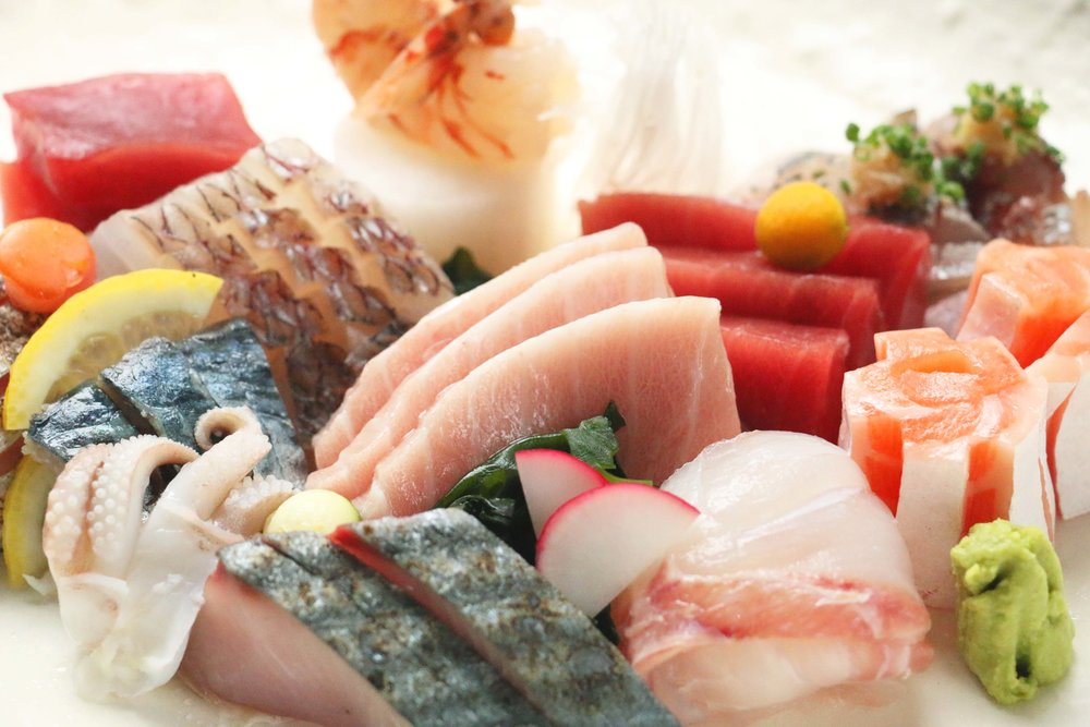 Kaiseki Winter - Fresh Winter Sashimi Assortment