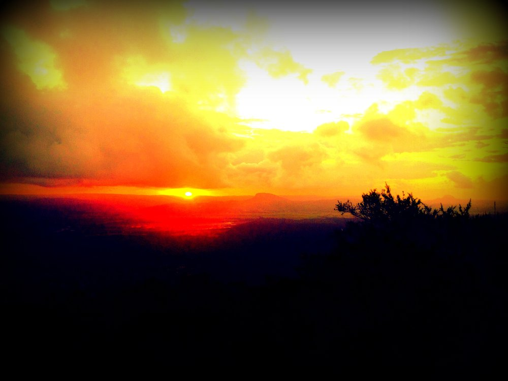 Sunset from Mt Coolum