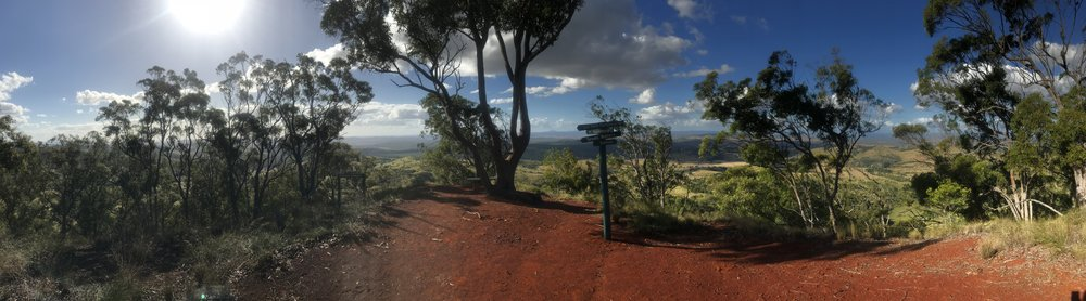 View from Daniels Lookout