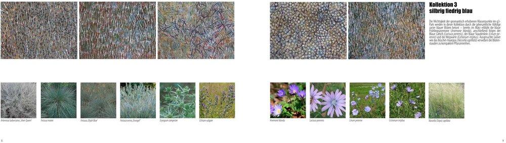 Beispiel für die Umsetzung von Malerei in Pflanzen