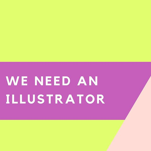 Community! We are in need of an illustrator with graphic design skillz to help us mock up a few pages of a project. Interested? Email us with some links to some of your work! Ourbrilliantbodies@gmail.com