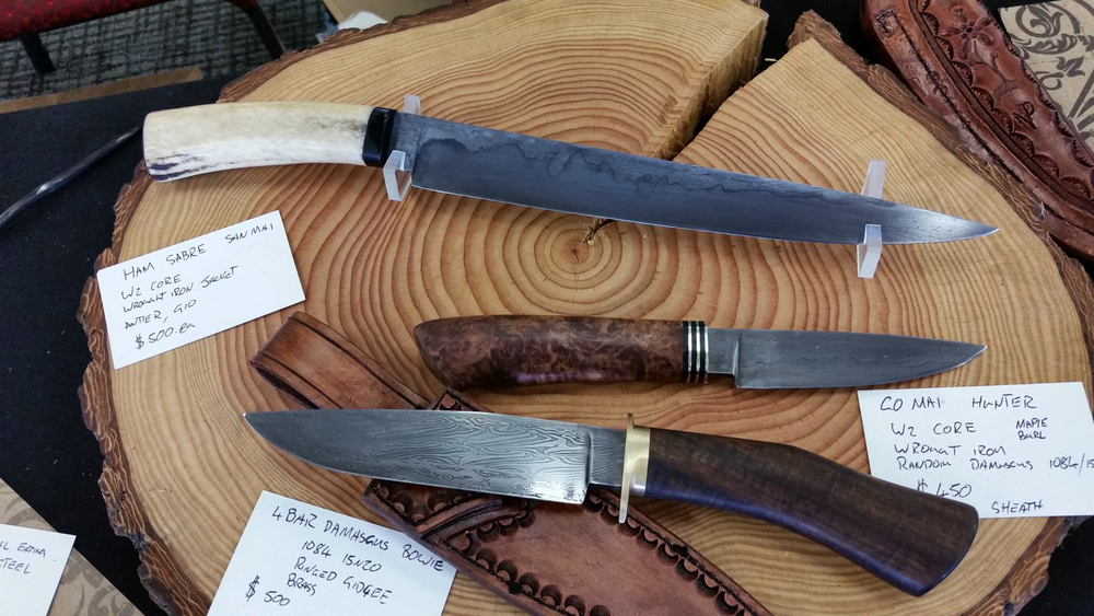 Image courtesy of Liam Phillips. Knives by Navarr Van Dyk