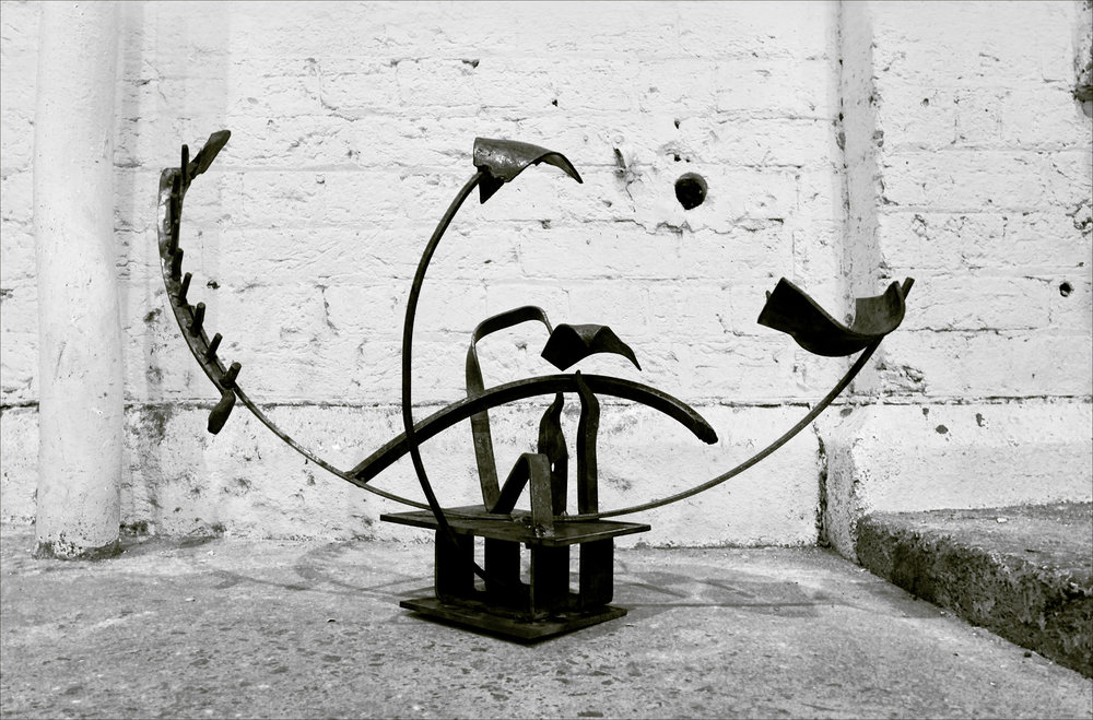 Metalwork for sculpture course in Sydney