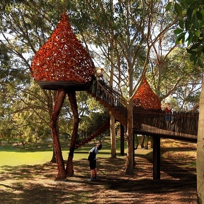 Hey friends, we're excited to be working in partnership with @nellartist, @caveurban, @carriageworks and @mirvac_office_industrial on a new public art project called the 'Eveleigh Tree House'! As part of the project were asking you to come in and contribute to the project by forging some gum leaves which will form part of the final installation.  If you're interested jump online at www.eveleigh.works and book a spot for this weekend! It's free and lunch will be provided!  Love to see some of you here.