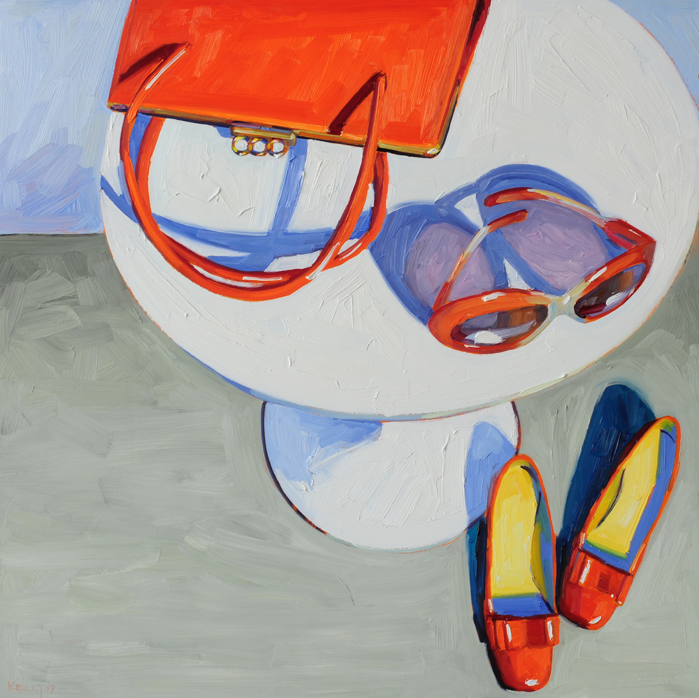 Orange Hand Bag Still Life, 2007