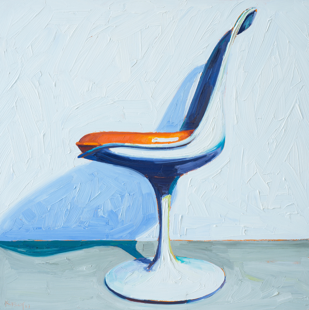 Saarinen Side Chair Right View, 2007