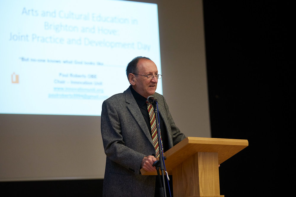 Paul Roberts, OBE, keynote presentation - 'But no one knows what God looks like...'