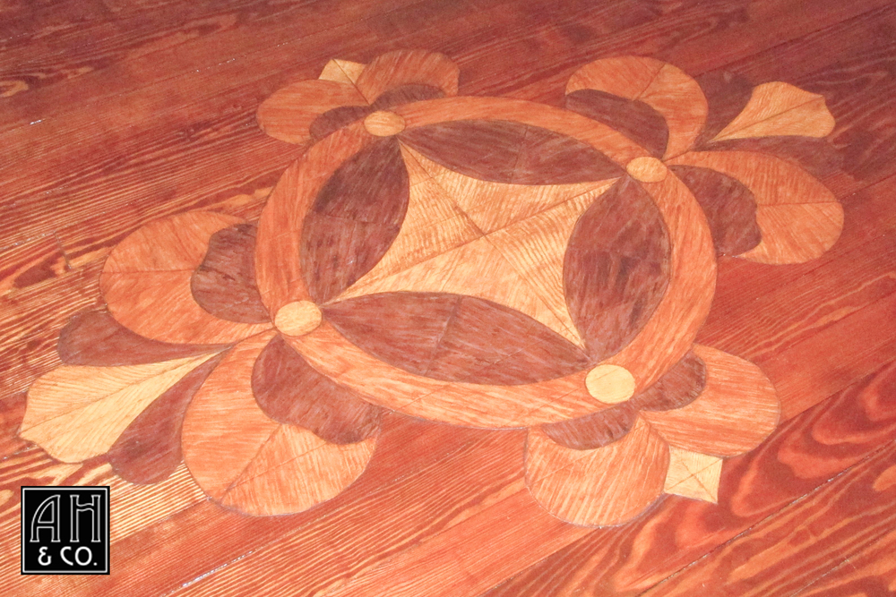 Floor Painting Staining Ah Co Decorative Artisans