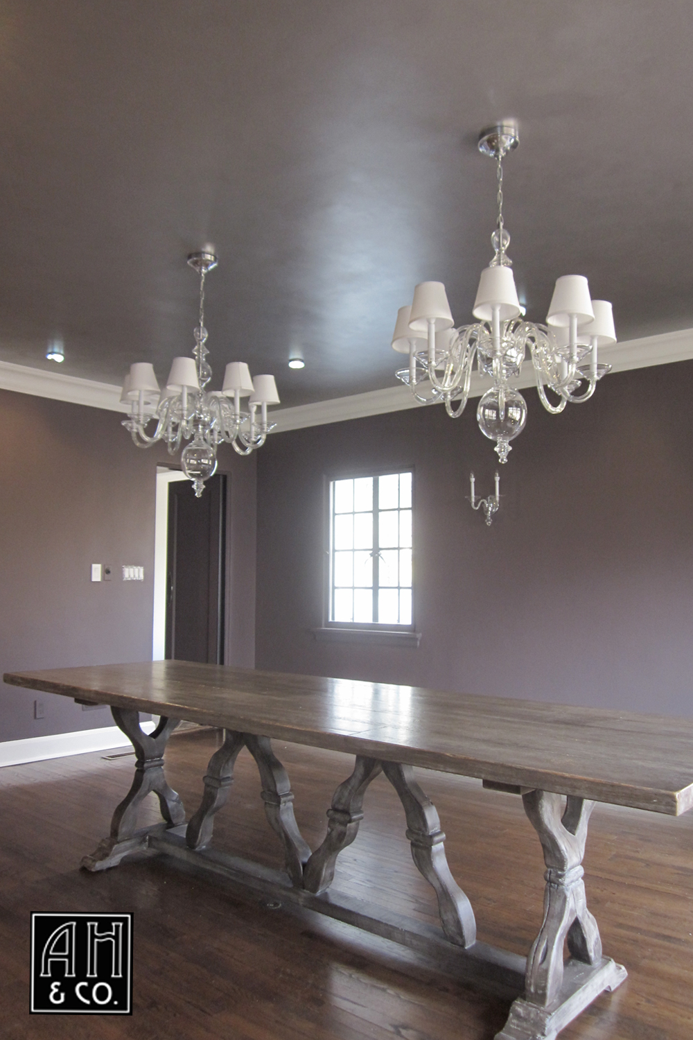 ceiling finishes — ah & co: decorative artisans