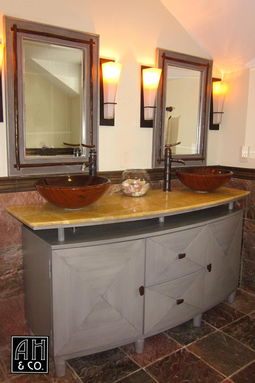 Vanity Bathroom Nj cabinetry — ah & co: decorative artisans