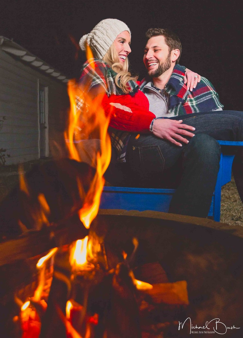 Dallas-Engagements-WhiteRockLake-Sky-DallasSkyline-cuddle-fire-firepit-winterphotos.jpg