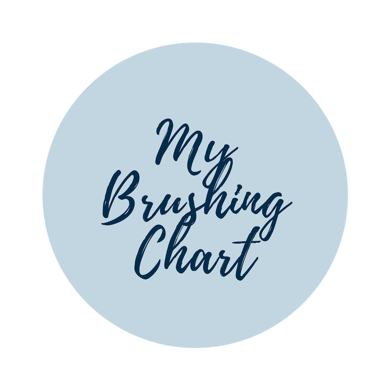My Brushing Chart