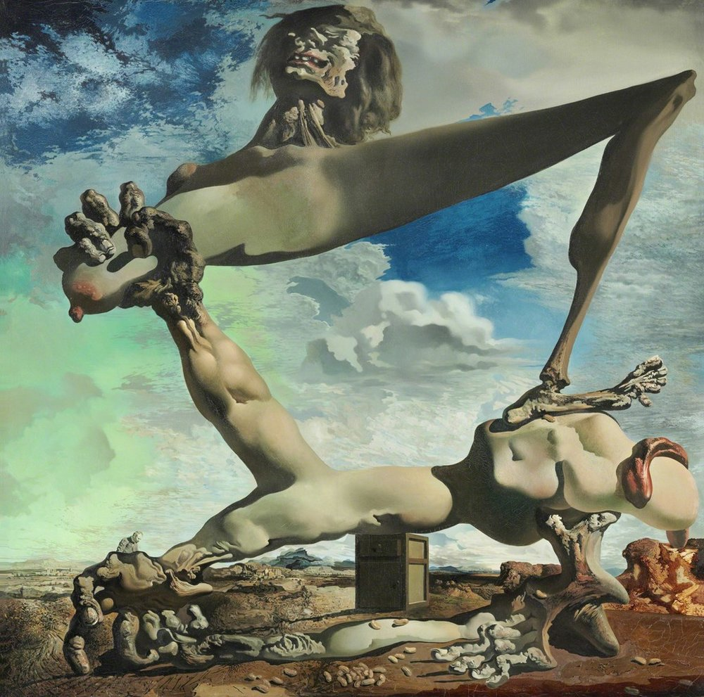 Salvador Dali, Premonition of Civil War (1936)