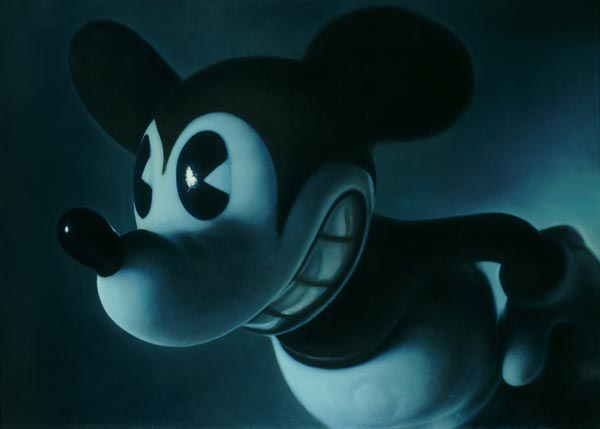 Gottfried Helnwein, Midnight Mickey (2001)