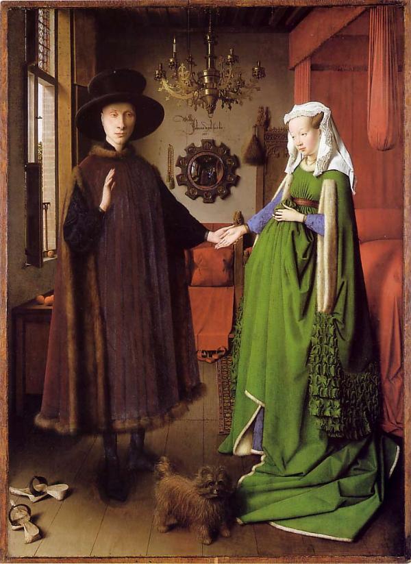 Jan van Eyck, Arnolfini Portrait (1434)