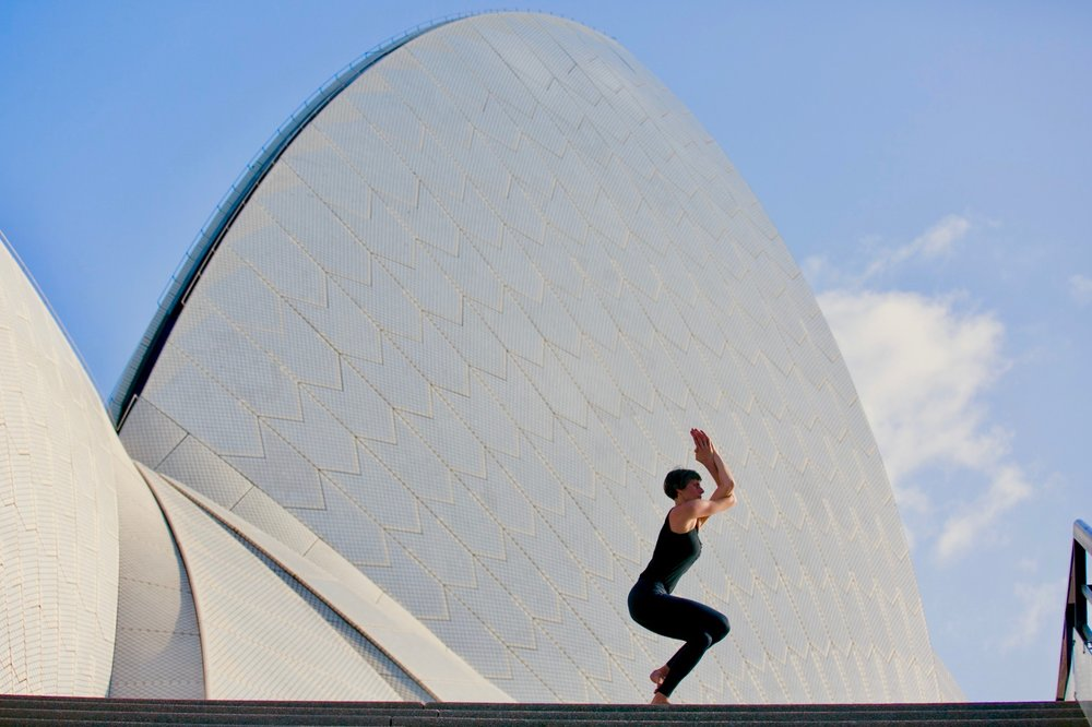 YOGA Stay flexible and form new structures.