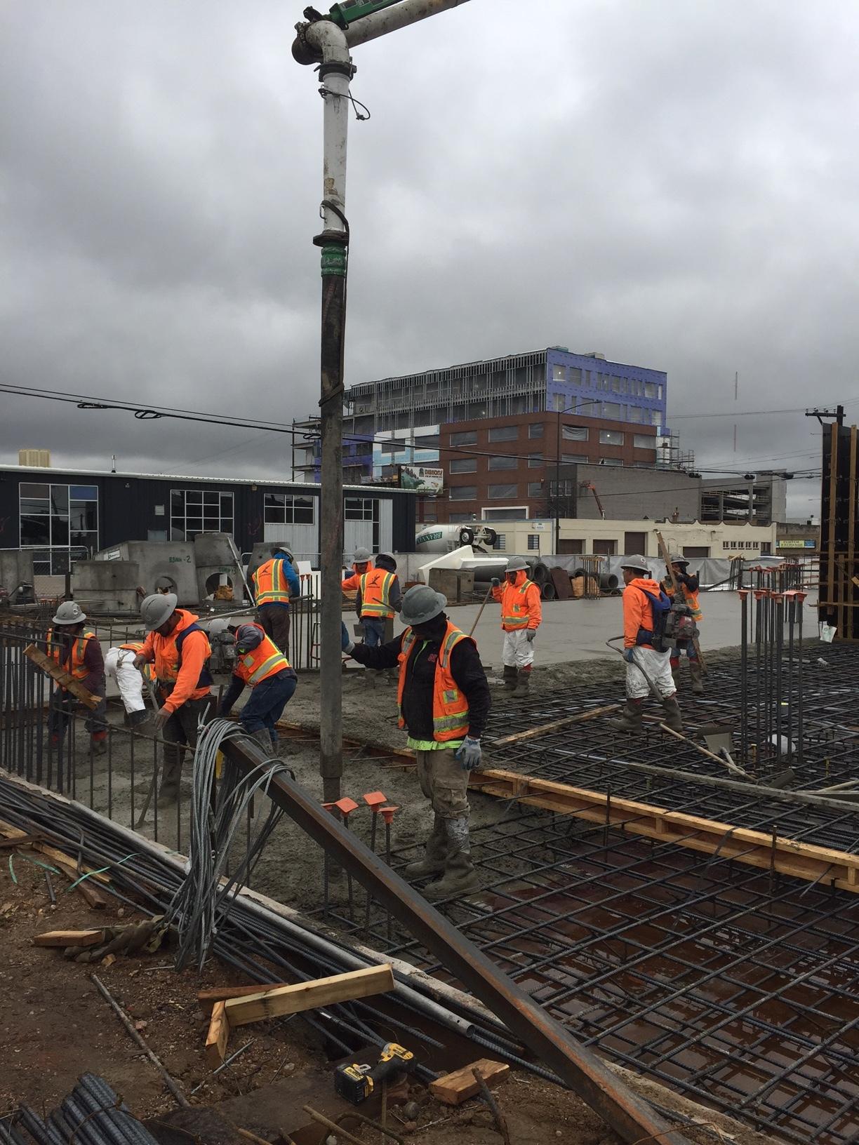 Ride at RiNo - Concrete & Framing — Bristlecone Construction