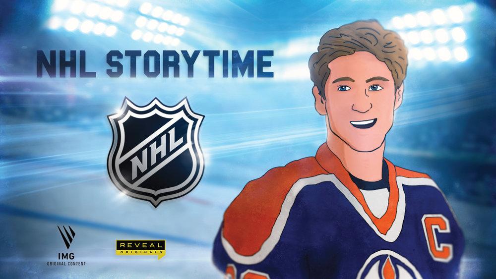NHL Storytime (Wayne Gretzky Version)