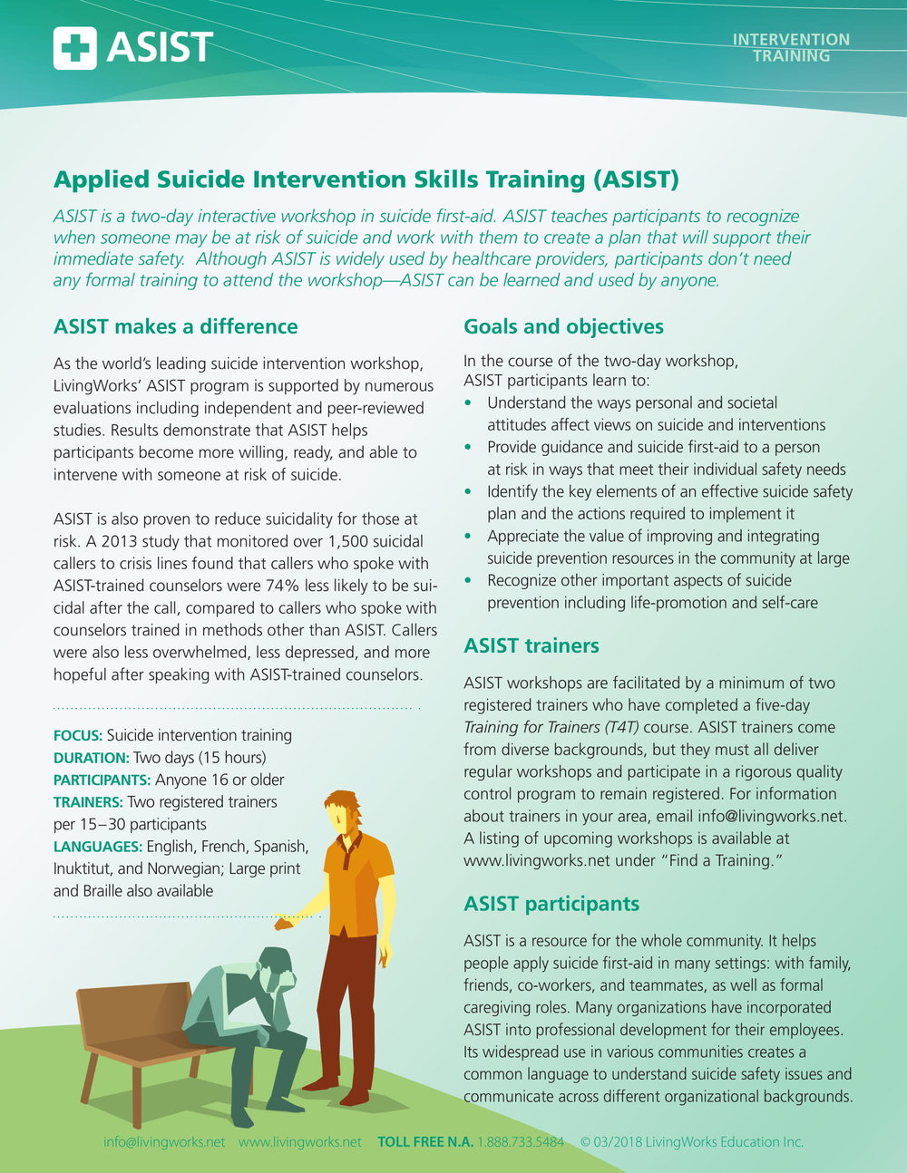 ASIST Training Information