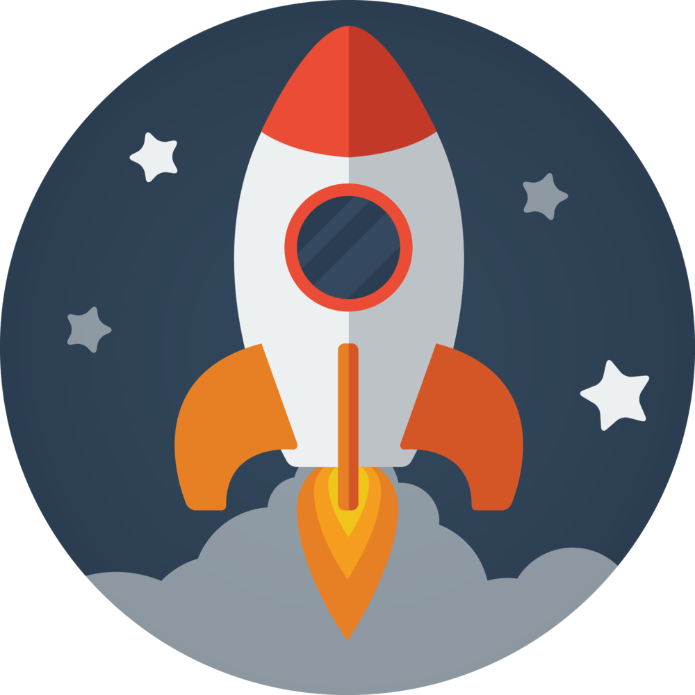 Blog Launch Rocketship