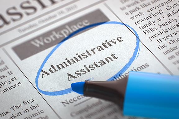 administrative asssitant job ad.jpg