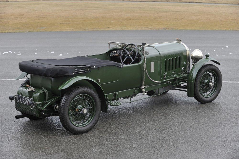 Bentley 4 1/2 Litre Semi Le Mans VDP Tourer