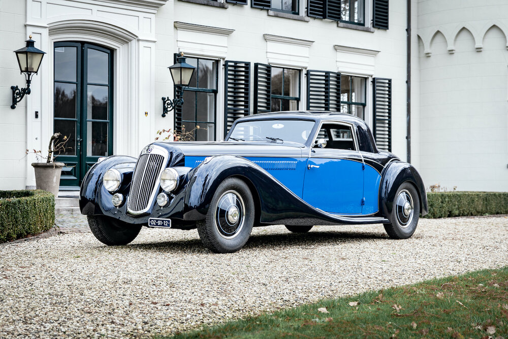 On tour in the Rolls-Royce Silver Ghost Barker Tourer