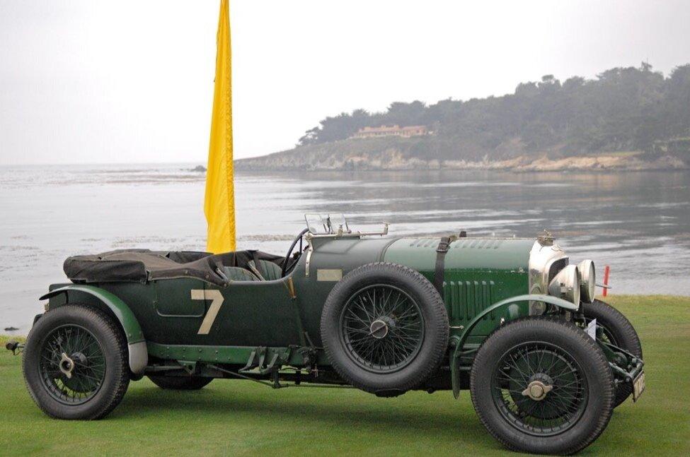 Original Tim Birkin 1928 Bentley 4 1/2 Litre Le Mans Teamcar Pebble Beach Tour d'Elegance