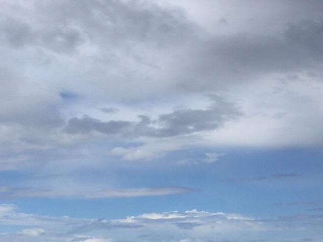 Skies cleared!