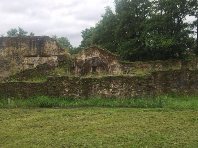 Ruins of 400 year old church