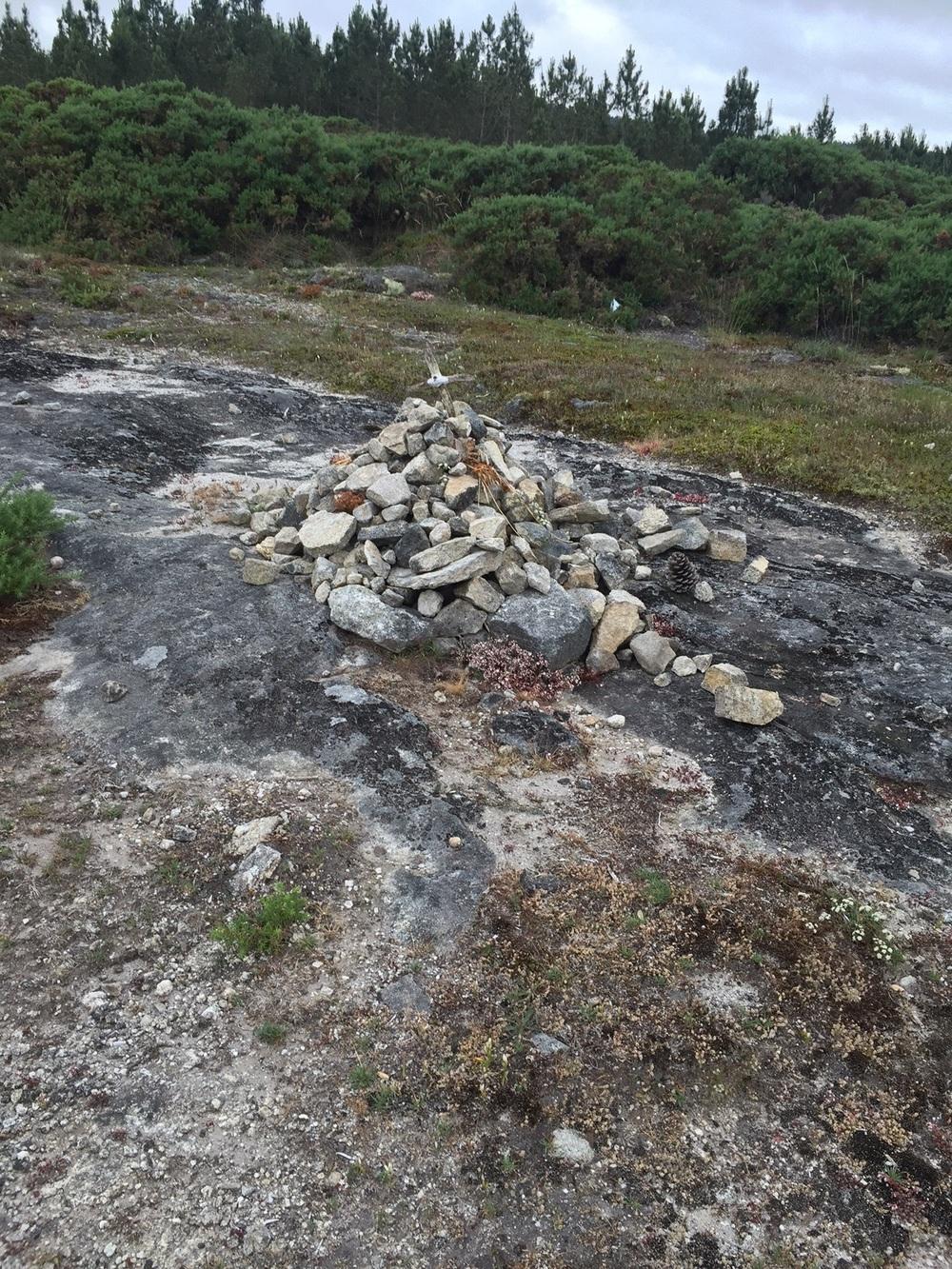Camino monument