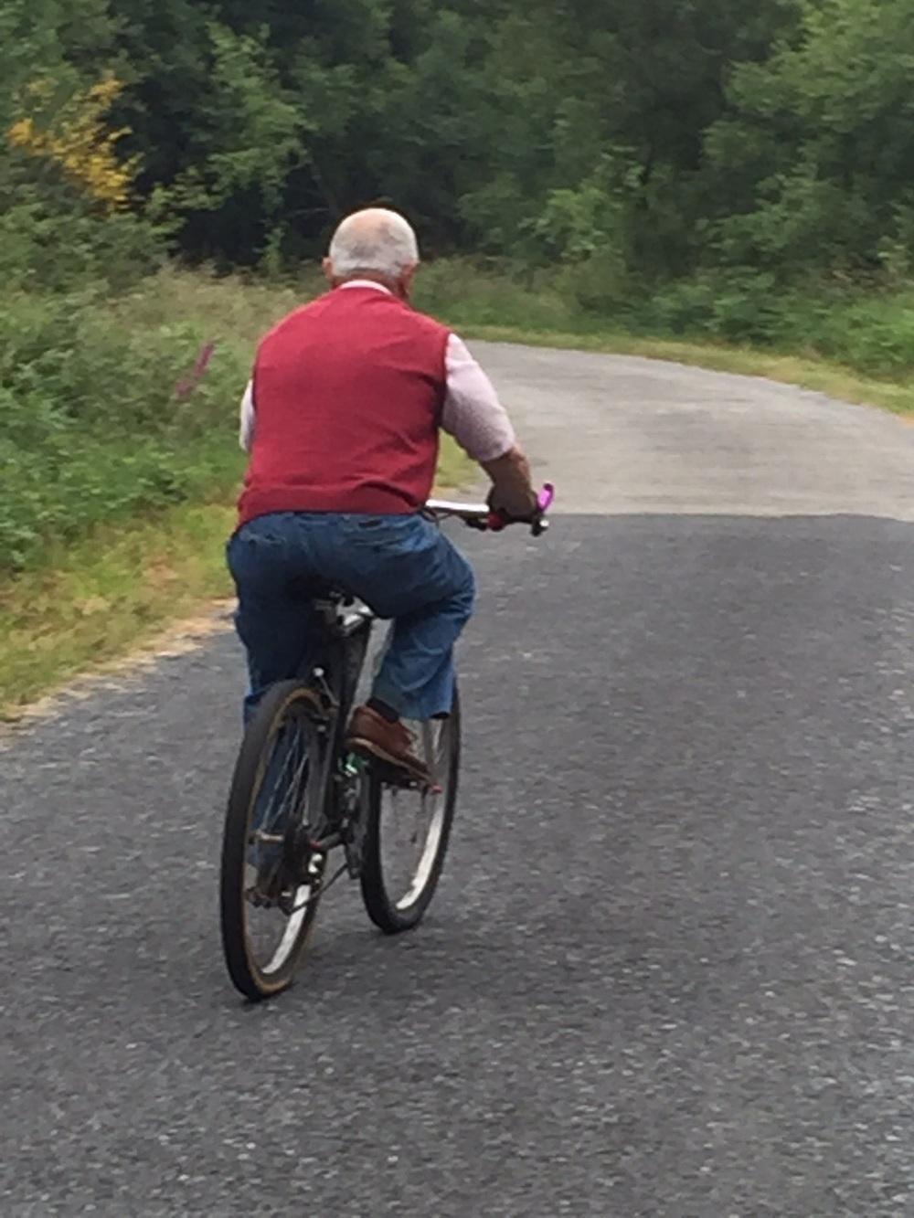 Bicycling through life
