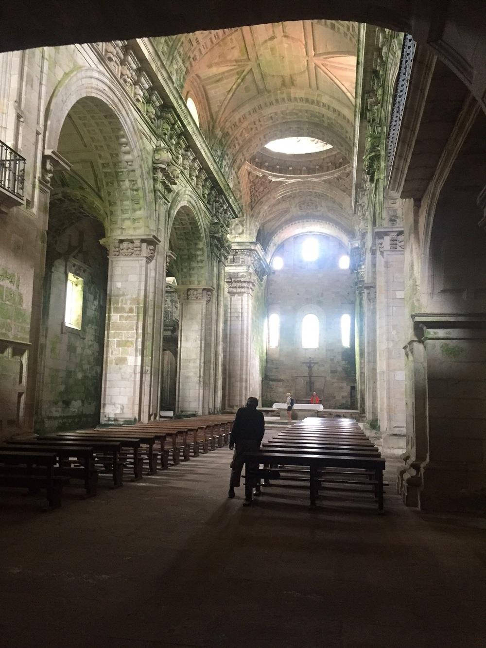 Austere monastery