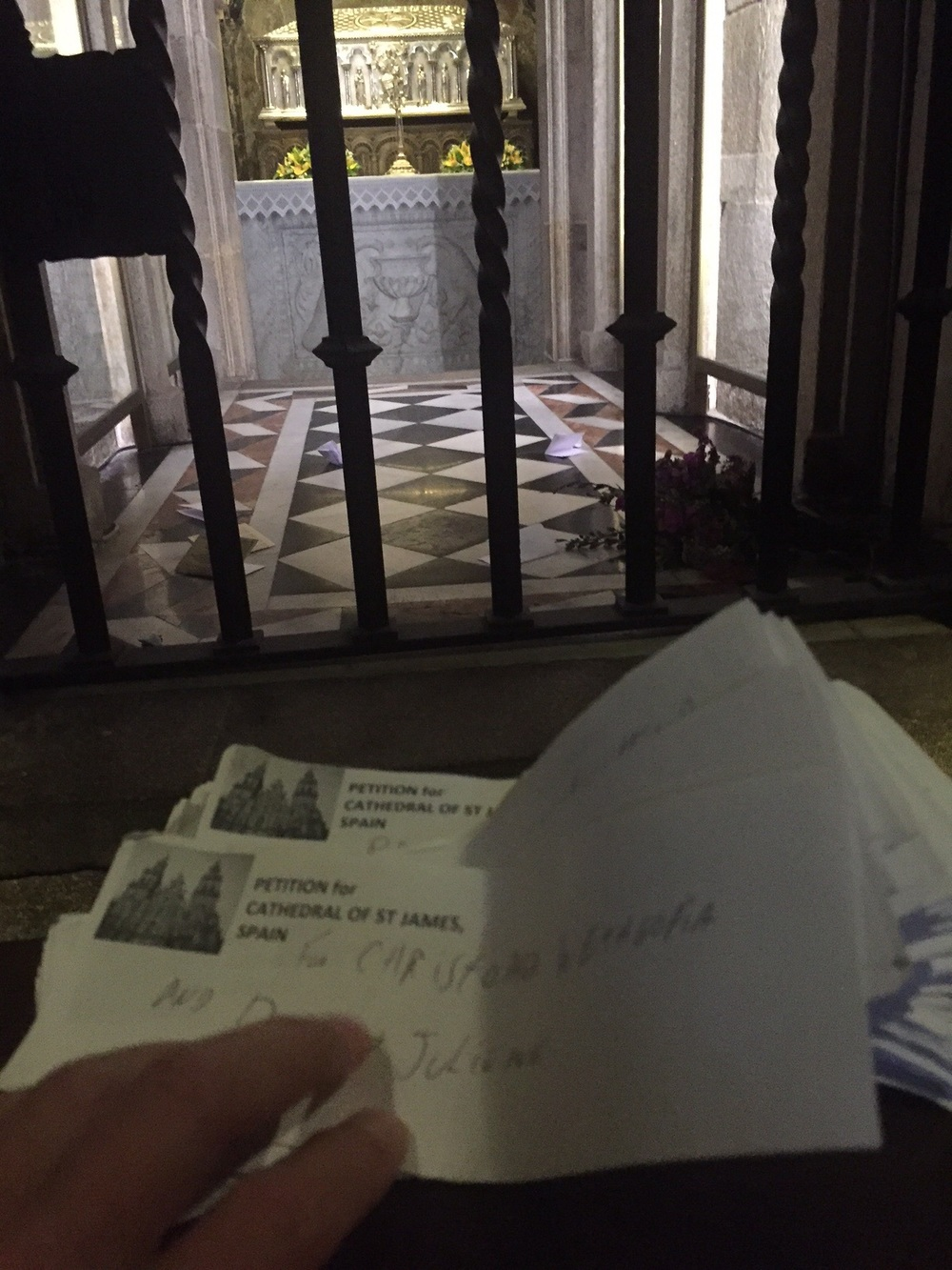 Petitions for St James