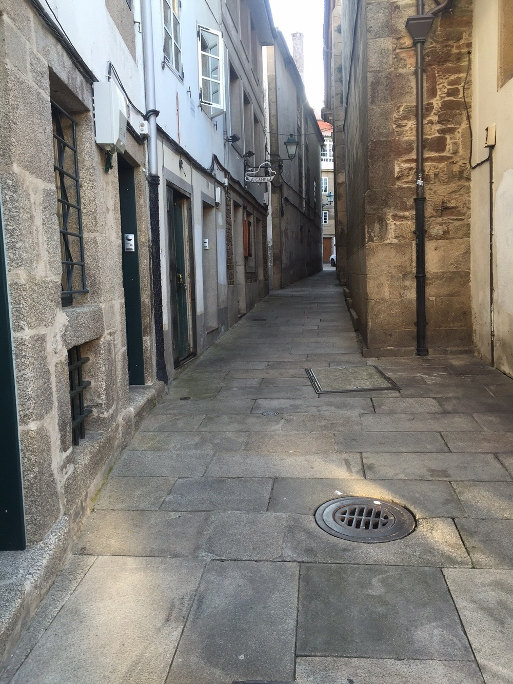 Old quarter Santiago