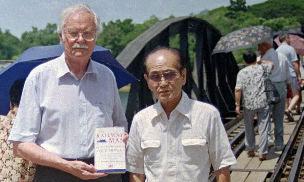 Eric Lomax and Nagese Takashi