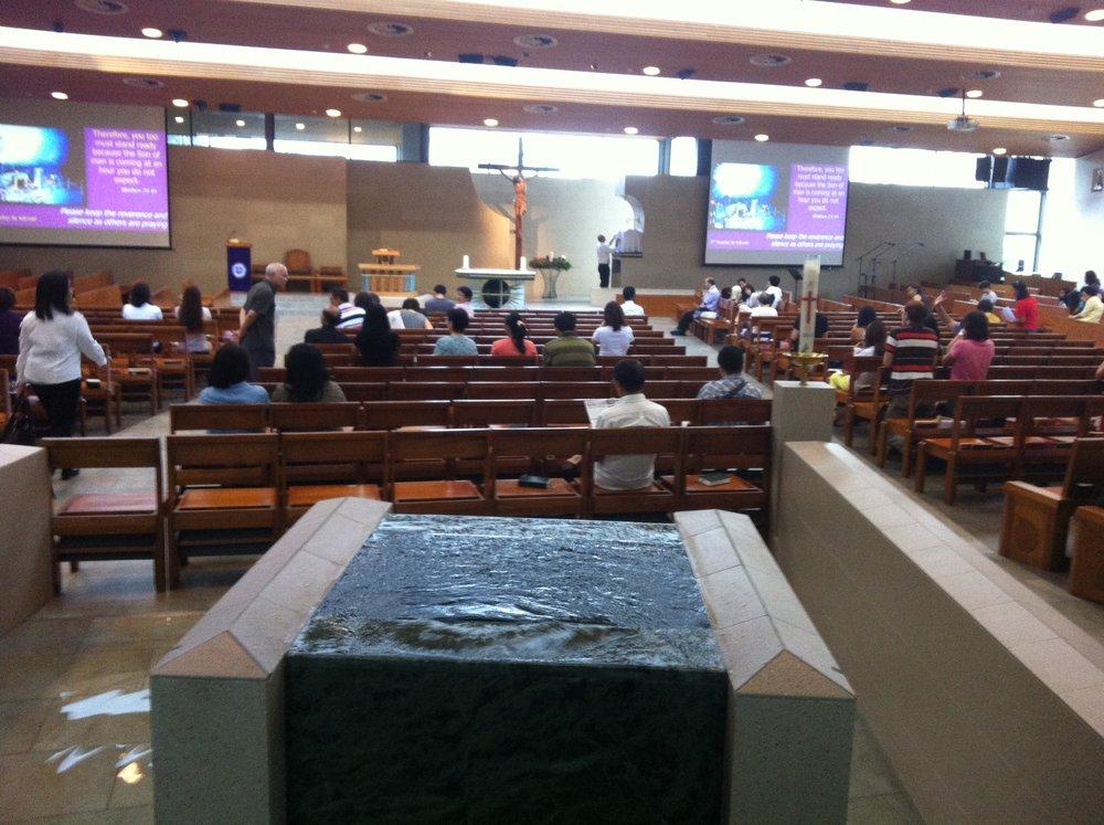 Baptismal playpool