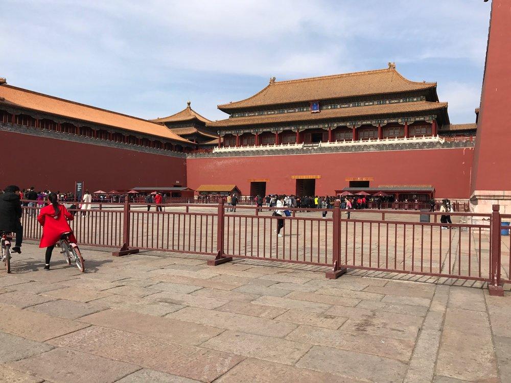 Entrance to Forbidden City